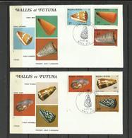 Wallis Et Futuna  FDC YT 306/11 Coquillages Cônes Shell - Wallis En Futuna