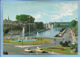 Troyes (10) Place De Vouldy Le Canal De La Haute-Seine 2 Scans Voitures Citroën Diane 2 CV Etc. - Troyes