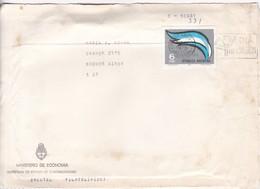 MINISTERIO DE ECONOMIA. ENCOTEL FILATELIA FRONT D'ENVELOPPE FDC 1975 - BLEUP - FDC