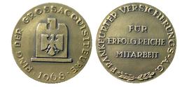 03282 GETTONE TOKEN JETON ADVERTISING INSURANCE FRANKFURT - Allemagne
