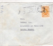 ENVELOPPE CIRCULEE AN 1976 BANDELETA PARLANTE - BLEUP - Storia Postale