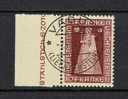 LIECHTENSTEIN...1941 Used...Cat Val+ $97.50 - Liechtenstein