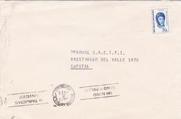 ENVELOPPE CIRCULEE AN 1976 BANDELETAS PARLANTES TARJETAS UNICEF - BLEUP - Infanzia & Giovinezza