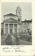 Castagnea (Biella) Chiesa Parrocchiale, Facciata E Sagrato, L'Eglise, The Church - Biella