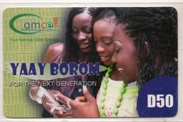 GAMBIE RECHARGE GSM GAMCEL D50 YAAY BOROM - Gambia