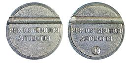 02688 GETTONE TOKEN JETON DISPENSER MACHINE DISTRIBUZIONE AUTOMATICA - Italy