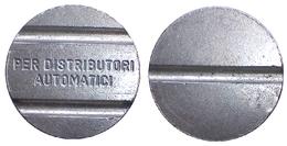 03012 GETTONE TOKEN JETON DISPENSER MACHINE DISTRIBUZIONE AUTOMATICA - Italy