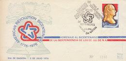 CHILI 1976 FDC BICENTENNIAL.BARGAIN.!! - Chili