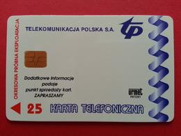 POLAND 62P - 25u Siemens Urmet Warszawa Poludnic - 2000ex Test Pologne (CB1217 - Pologne