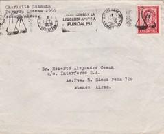 ENVELOPPE CIRCULEE BUENOS AIRES CIRCA 1976 BANDELETA PARLANTE: HOMENAGE  CONFRATERNIDAD SUIZO ARGENTINA - BLEUP - Argentina
