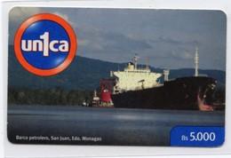 VENEZUELA Prepaye Remote UN1CA Barco Petrolero San Juan - Venezuela