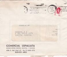 COMERCIAL USPALLATA. COMMERCIAL ENVELOPE FULL CONTENT INSIDE CIRCULEE BUENOS AIRES 1974 BANDELETA PARLANTE - BLEUP - Argentina