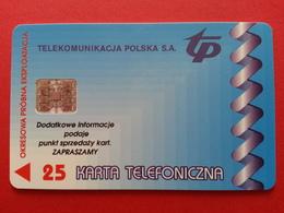 POLAND 65P - 25u Hellascom Grecja Krakow - 04/96 1000ex Test Pologne (CB1217 - Pologne