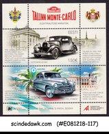 ESTONIA - 2018 TALLINN MONTE-CARLO CAR MARATHON - MIN/SHT MNH - Autos