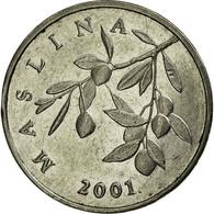 Monnaie, Croatie, 20 Lipa, 2001, TTB, Nickel Plated Steel, KM:7 - Croatie