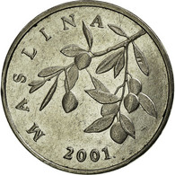 Monnaie, Croatie, 20 Lipa, 2001, TTB, Nickel Plated Steel, KM:7 - Croatia