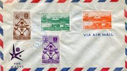 HAITI 1958 FDC EXPOSITION BRUXELLES.BARGAIN.!! - 1958 – Brussel (België)
