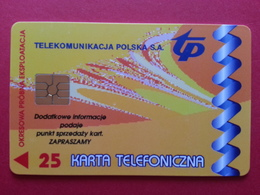 POLAND 73P - 25u Lucent Technologies USA Zamosc - 1500ex Test Pologne (CB1217 - Pologne