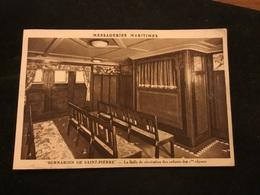 Bernardin De Saint Pierre La Salle De Récréation - Steamers