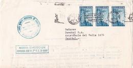 ENVELOPPE CIRCULEE BUENOS AIRES AN 1973 TIMBRES UNIES BANDELETA PARLANTE  BROEN TRIUNFA EN MARTIN GARCIA - BLEUP - Argentina