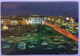 VIAREGGIO - Piazza Mazzini - Parcheggio Auto - Many Old Cars - Timbro Targhetta Fiera Del Libro Viareggio 1974 - Vg T2 - Viareggio