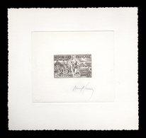 France 961 Epreuve D'artiste Signé. JO Helsinki 1952  Artist Signed Die Proof Athletics, Athlétisme, Olympic Games - Prove D'artista