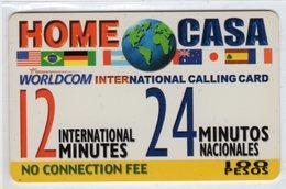 MEXIQUE WORLDCOM INTERNATIONAL 100 Pesos - Mexique