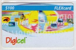 JAMAIQUE CARAIBES PREPAYEE DIGICEL FLEXCARD 100$ - Jamaica