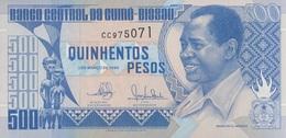 Guinée Bissau / 500 Pesos / 1990 / P-12(a) / UNC - Guinee-Bissau