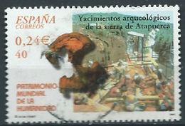 SPANIEN ESPAGNE SPAIN ESPAÑA 2001 FROM HUMAN HERITAGE M/S: ATAPUERCA ARCHEOLOGITS  ED 3847 YV 3402 MI 3682 SC 3130E - 1931-Hoy: 2ª República - ... Juan Carlos I