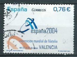 ESPAGNE SPANIEN ESPAÑA SPAIN 2003 STAMP DAY VALENCIA USED ED 4033 YV 3609 MI 3895 SG 4005 SC 3256 - 1931-Hoy: 2ª República - ... Juan Carlos I