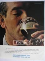 ORIGINAL1963 MAGAZINE ADVERT FOR  GUINNESS - Other