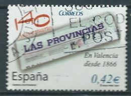ESPAGNE SPANIEN SPAIN ESPAÑA 2007 NEWSPAPER LAS PROVINCIAS USED ED 4309 YV 3905 MI 4200 SG 4234 SC 3475 - 1931-Heute: 2. Rep. - ... Juan Carlos I