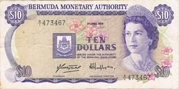 BERMUDA  - 10 DÓLLARS 1978. - Bermudas