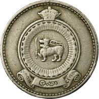 Monnaie, Ceylon, Elizabeth II, 50 Cents, 1963, TB+, Copper-nickel, KM:132 - Sri Lanka