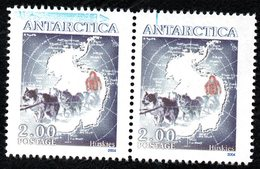 Antarctica Post Husky Blue Flaw. - New Zealand