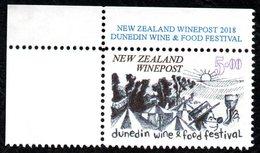 New Zealand Wine Post Food & Wine Stamp. - New Zealand