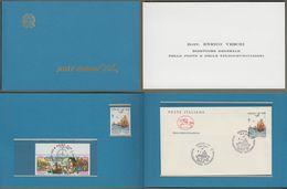 "Italia, Italien, Italy : Minister Card, Ministerkarte, Ministerheft Blau 1992: "" Christoph Kolumbus "" Rar !      X - 6. 1946-.. Repubblica"