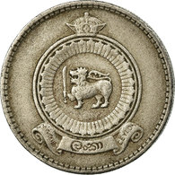 Monnaie, Ceylon, Elizabeth II, 25 Cents, 1963, TB+, Copper-nickel, KM:131 - Sri Lanka