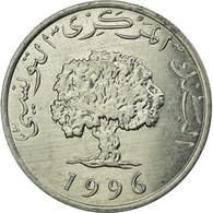 Monnaie, Tunisie, 5 Millim, 1996, Paris, TTB, Aluminium, KM:282 - Tunisia