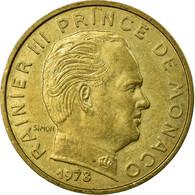 Monnaie, Monaco, Rainier III, 10 Centimes, 146, TTB, Aluminum-Bronze - 1960-2001 Nouveaux Francs