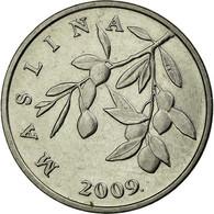 Monnaie, Croatie, 20 Lipa, 2009, TTB+, Nickel Plated Steel, KM:7 - Croatie