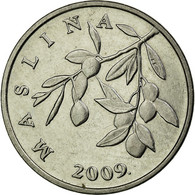 Monnaie, Croatie, 20 Lipa, 2009, TTB+, Nickel Plated Steel, KM:7 - Croatia