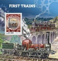 Sierra Leone  2016  First Trains , Locomotive - Sierra Leone (1961-...)