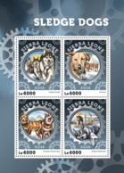 Sierra Leone  2016  Fauna ,  Sledge Dogs - Sierra Leone (1961-...)