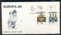 Spain 1989 Europa Children's Play FDC - FDC