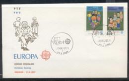 Turkey 1989 Europa Children's Play FDC - FDC