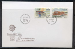 Finland 1990 Europa Post Offices FDC - Finland