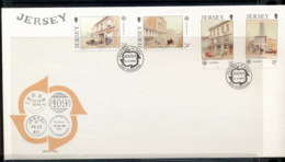 Jersey 1990 Europa Post Offices FDC - Jersey