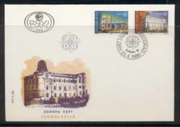 Yugoslavia 1990 Europa Post Offices FDC - FDC